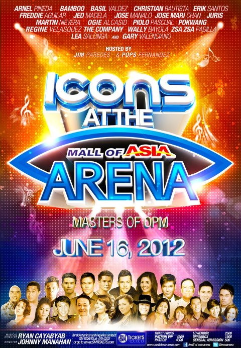 Icons at the Mall of Asia Arena
