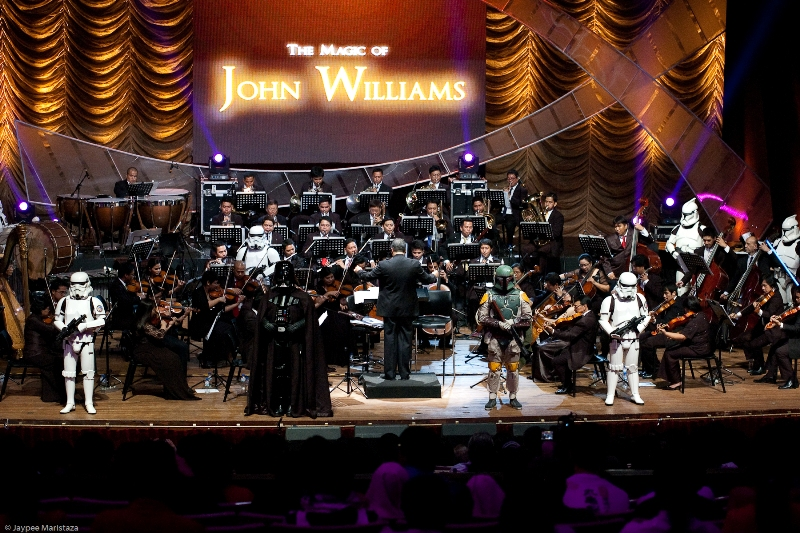 The ABS-CBN Philharmonic Orchestra performing the music of John Williams