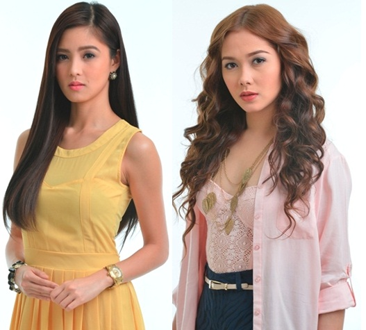 Kim and Maja new look in INA KAPATID ANAK