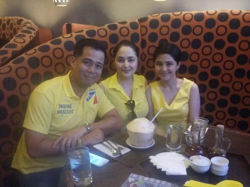 Dingdong Avanzado, Jessa Zaragoza and Jayda - Orange Magazine