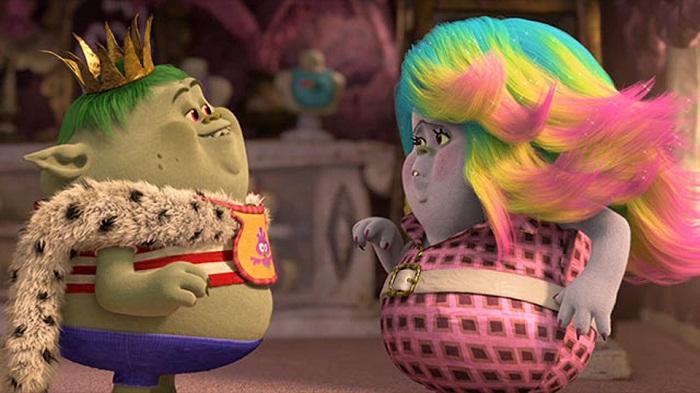 Zooey Deschanels Uniquely Colorful Cinderella Spin In Trolls