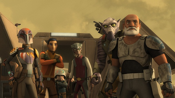 The Rebels Face Grand Admiral Thrawn When 'Star Wars Rebels
