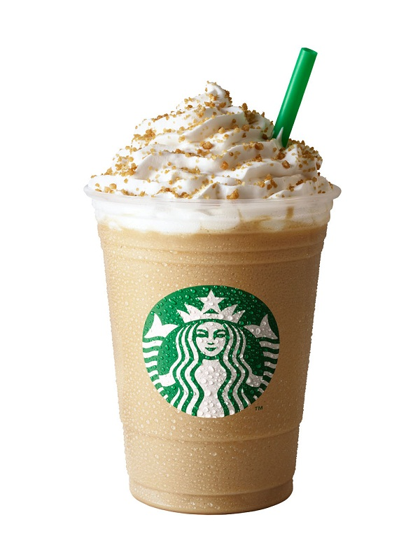 Image result for Starbucks - Toffee Nut Frappuccino