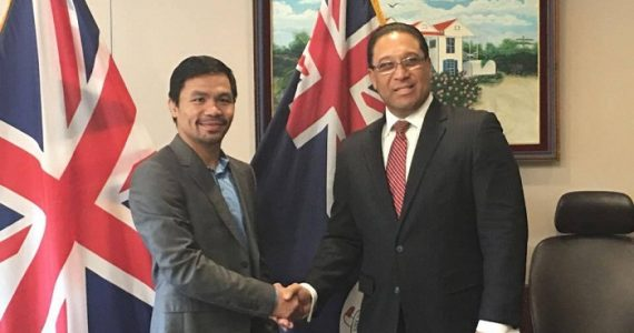 Senator Manny Pacquiao Impresses Caymanians In First Visit To The Cayman Islands