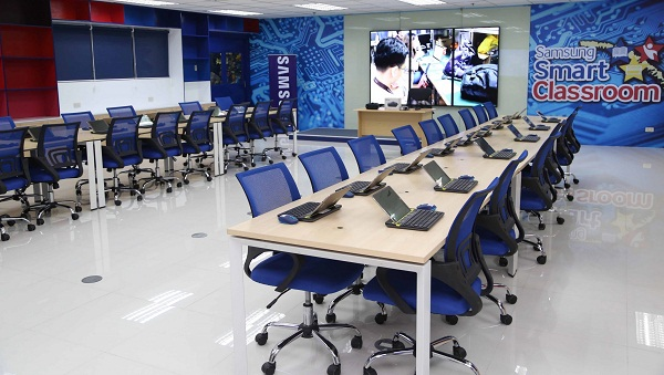 Innovative Ict Classroom ~ Samsung and up diliman promote quality education through