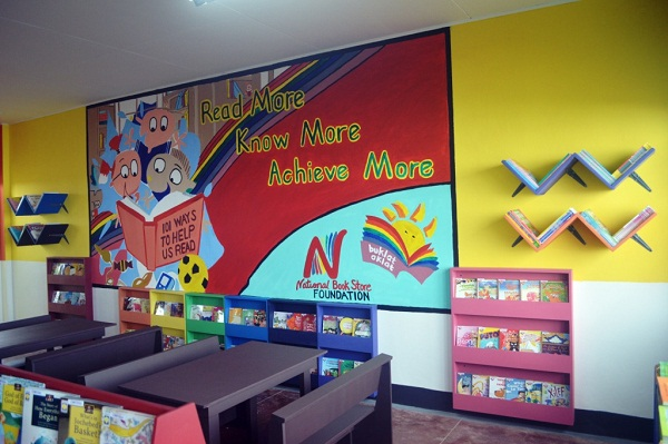 Project Aklat to build more Public School Libraries in the Philippines.