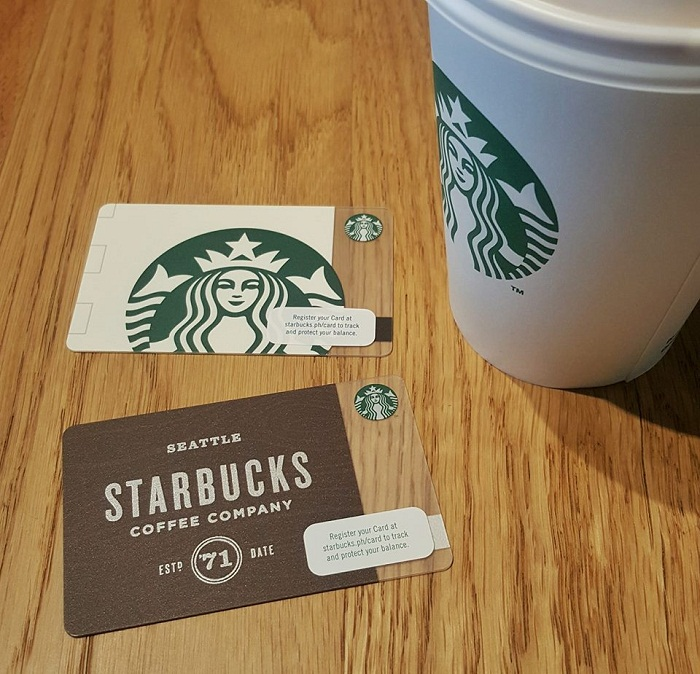 Starbucks philippines make summer more rewarding with my for Starbucks business cards