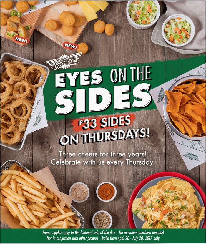 It's just a graphic of Witty Wingstop Printable Menu