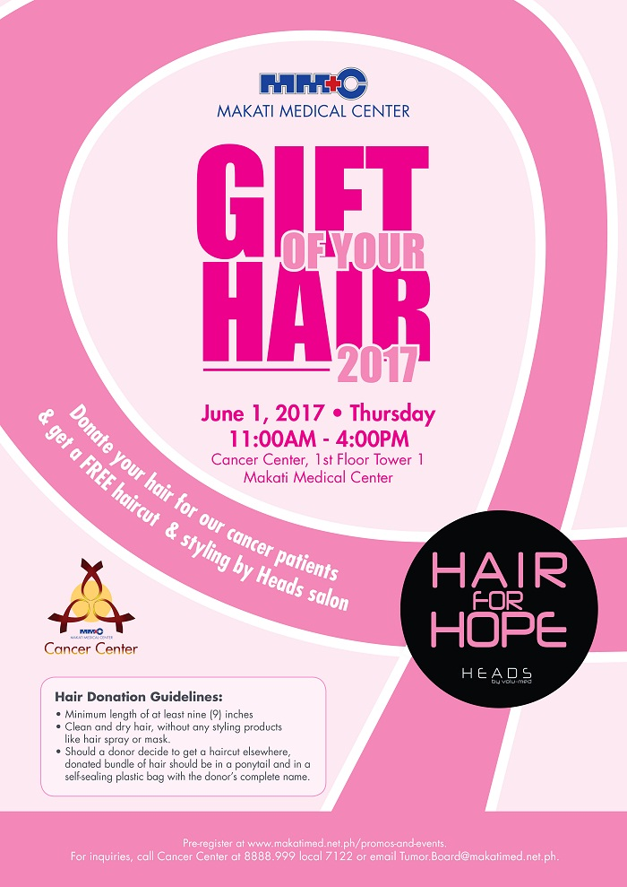 Hair Donation Drive Donors Get Free Haircuts From Makati Medical