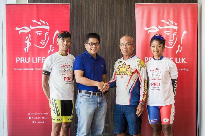 The Bike Insurer >> Pru Life UK Sends Off Top Filipino Cyclists Marella ...