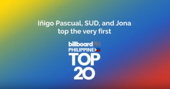 Ed Sheeran Tops The First-Ever Billboard Philippines Hot 100, While Local Singer Inigo Pascual Leads The Billboard Philippine Top 20