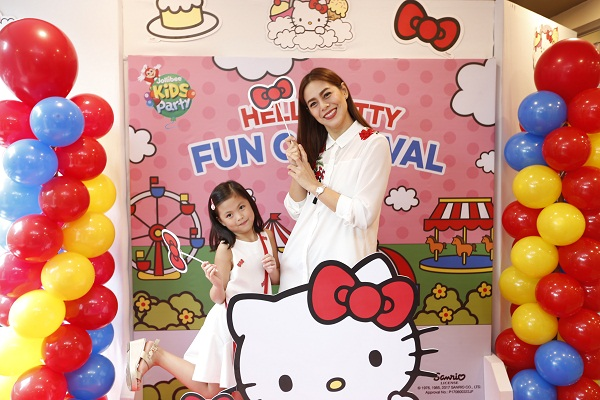 Jollibee launches most adorable carnival themed party with hello jollibee and hetty also joined in on the bash with their special appearance and dance number while the kids enjoyed their delicious langhap sarap meals stopboris Choice Image