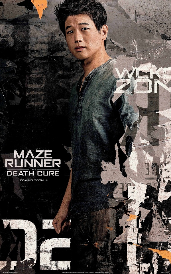"""""""Maze Runner: The Death Cure"""" Trailer And Character Posters - Orange Magazine"""