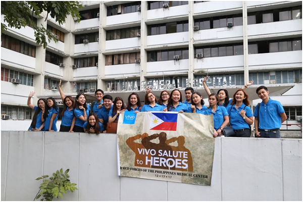 Salute To Heroes: Vivo Gives Back To Marawi Soldiers By Way