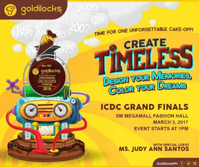 A Timeless Cake Challenge At Goldilocks Intercollegiate Cake