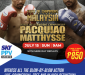 Manny Pacquiao's Comeback Fight Live On Sky Sports Pay-Per-View