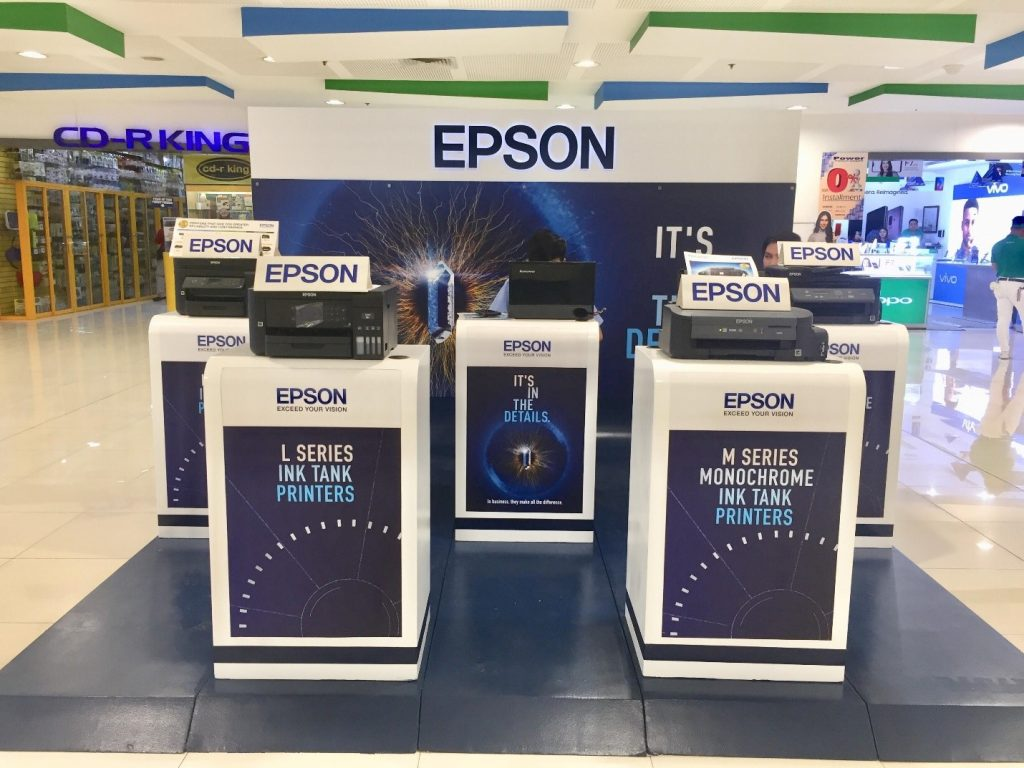 Epson Philippines Kicks Off 'It's In The Details: Nationwide