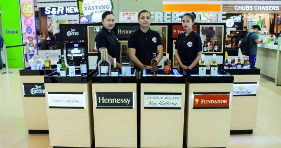 Free Sampling of Premium Wines and Spirits At The Tasting Corner