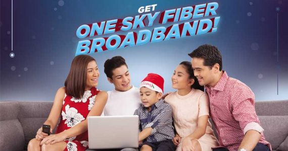 SKYcable Rewards Loyal Subscribers With 50% OFF On Fiber Broadband