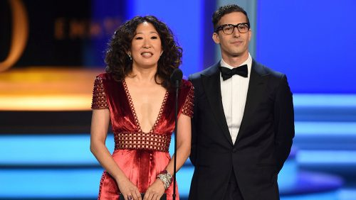 86ae04de59 Sandra Oh and Andy Samberg To Co-Hosts The 76th Annual Golden Globe Awards   Airs January 7 On Blue Ant Entertainment