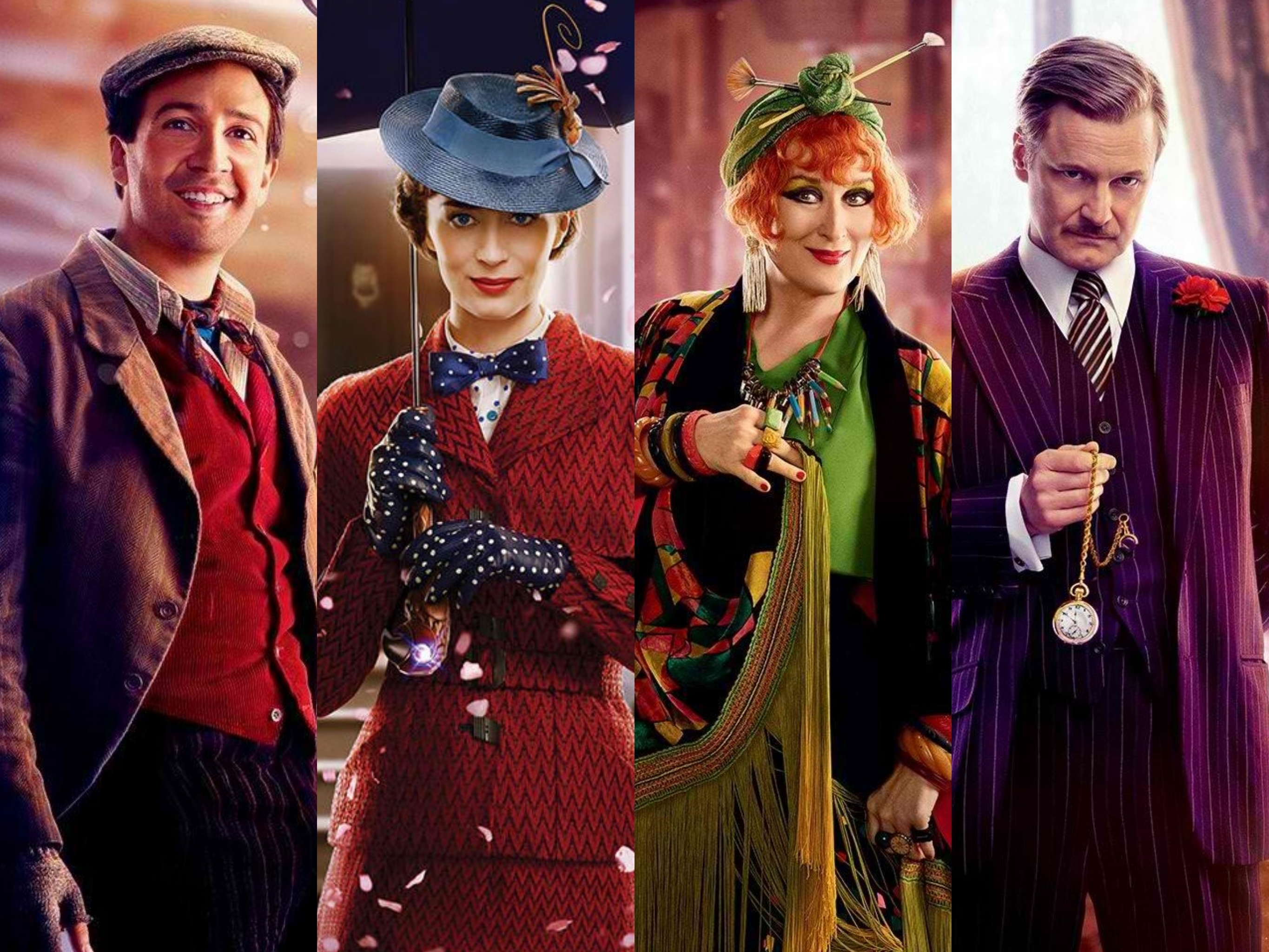 Meet The Cast Characters Of Mary Poppins Returns Orange Magazine