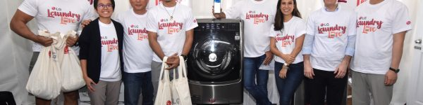 LG Empowers Alpha-Males To Do The Family Laundry with LG Washers