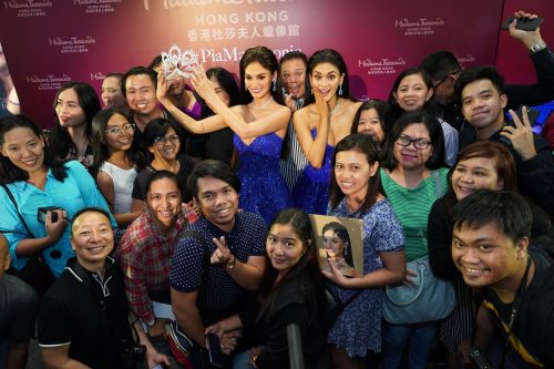 Madame Tussauds Hong Kong Unveils Pia Wurtzbach As The First