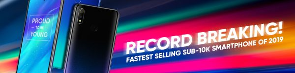 Realme 3 First Sale Breaks Shopee's Record As Fastest-Selling Smartphone Under Php10,000!