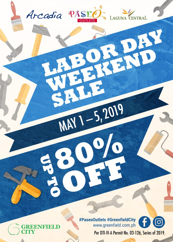 Greenfield City S Labor Day Sale Big Brands Big Outlets
