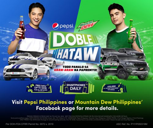 Daniel Padilla and James Reid Join Forces For Pepsi and