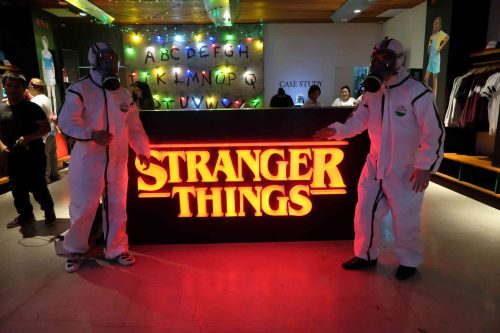 Netflix's Stranger Things Official Merchandise Now Available