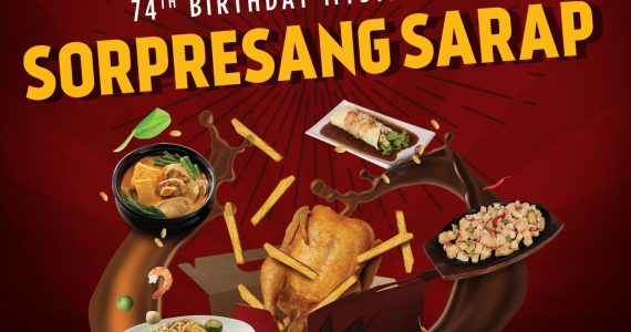 Max's Restaurant Celebrates 74 Years Of Sarap-To-The-Bones With 'Sorpresang Sarap' Mystery Box