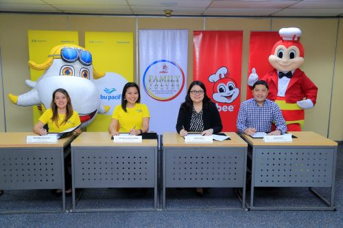 Cebu Pacific is Jollibee Family Values Awards' official airline and Special Citation for Environment partner