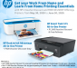 Get P500 to P1,000 discount, free delivery when you buy HP printers at Lazada, Shopee