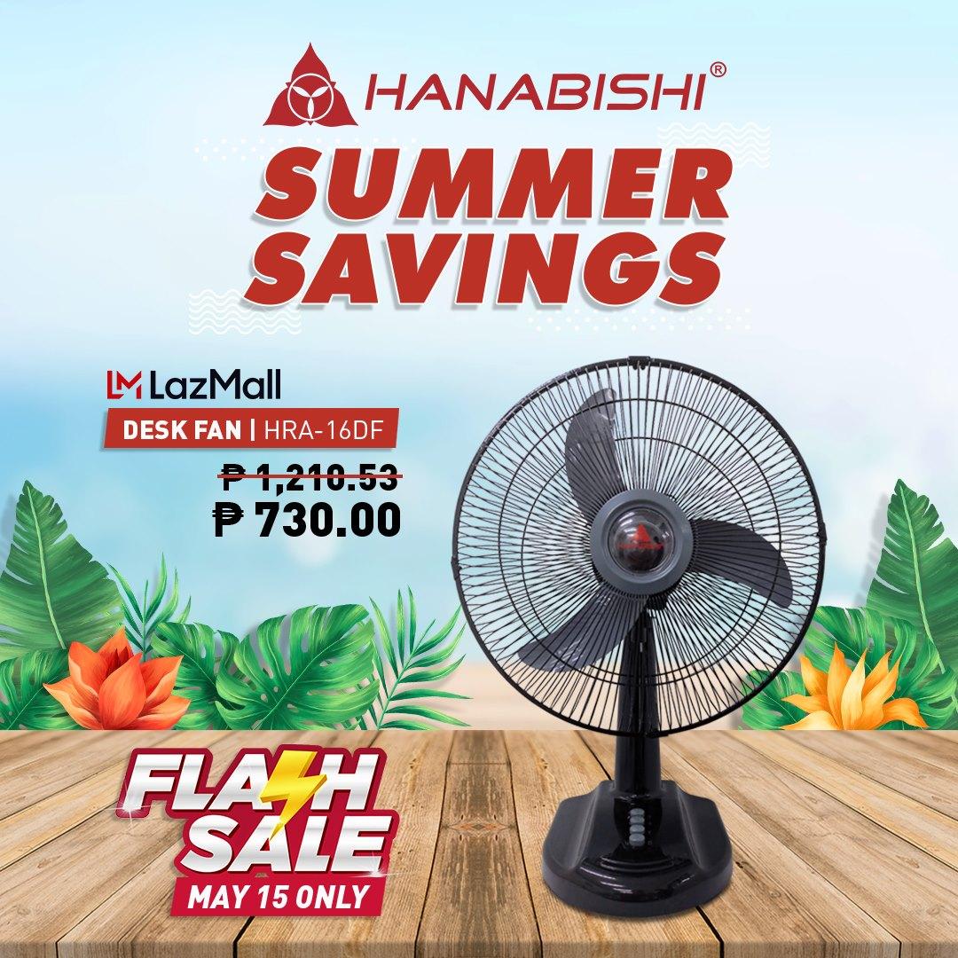 Hanabishi's LazMall Summer Sale